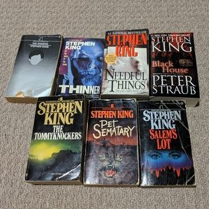 Other - Lot of 7 Stephen King Books